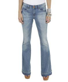Calça Jeans Flare Azul Claro - cea