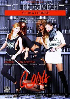 ELADIO prezinta : Hip-Hop Din Romania: G girls - RnB Party (30 octombrie)