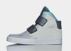 THE SNEAKER ADDICT: Nike Flystepper 2k3 Grey/Blue Sneaker Available No...