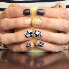 Simply Daisy, Sunny Lotus, Midnight Sky Independent Jamberry Nail Consultant - Shop at: Keracuster.jamberrynails.net