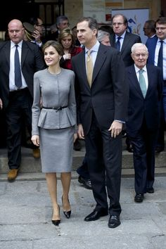 King Felipe and Queen Letizia Attended Investiture of Honorary Doctors By Salamanca's University