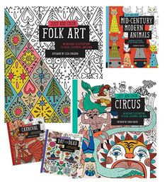 Colacorelinha por Ma Stump » Arquivos » Just add color: coleção de livros para colorir
