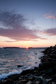 https://flic.kr/p/bcUQ1V   Sunset no. 2, Spruce Head, So. Thomaston, Maine (7679)  