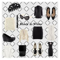 """""""Black & White"""" by hmlife ❤ liked on Polyvore featuring H&M"""