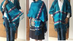 Hey, I found this really awesome Etsy listing at https://www.etsy.com/listing/242479925/mexican-shawl-scarf-rebozo-poncho-folk