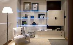 A organização do ambiente permite conseguir tranquilidade e aumentar a sensação de conforto.