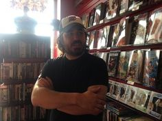 "Brian ""Q"" Quinn dropped by the Mariners Harbor shop to welcome comic book writer Cullen Bunn."