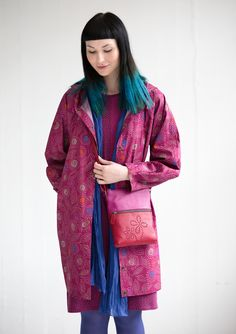 """""""April"""" raincoat in eco-cotton – Coats & jackets – GUDRUN SJÖDÉN – Webshop, mail order and boutiques 