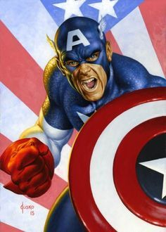 IDW and Joe Jusko Want to Have You for Dinner at San Diego Comic-Con - Bleeding Cool News And Rumors Marvel Comics Superheroes, Marvel Comic Books, Marvel Art, Comic Book Heroes, Marvel Heroes, Comic Books Art, Comic Art, Captain America Pictures, Marvel Captain America