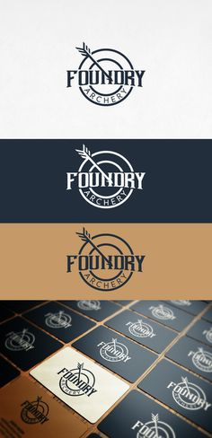 Foundry Archery needs a classic yet cool new logo by cioby