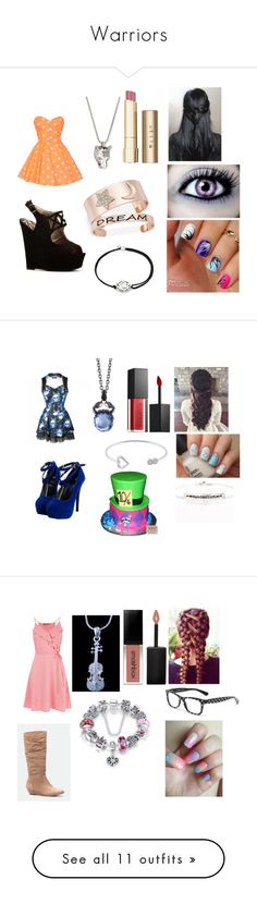 """""""Warriors"""" by rosemarie-lestrange ❤ liked on Polyvore featuring Qupid, Gucci, Stila, Alex and Ani, Stephen Webster, Smashbox, Blooming Lotus Jewelry, Jewel Exclusive, JustFab and Dolce&Gabbana"""