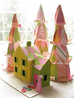 wee cardboard house by plainisgood, via Flickr