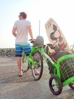 Diseño: Remolque de bici urbana   mypinkadvisor.com