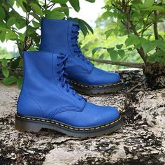 premium selection 7c9bf 0d8a6 Dr. Martens Pascal in Wild Blue Virginia Exclusively available at Traffic  Footwear  trafficfw store