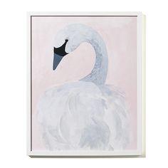 Nursery Wall Art Swan