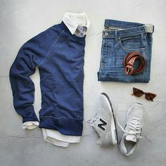 look new balance azul marino