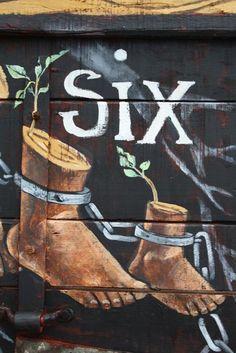 """""""Remember six feet"""" Taken literally...."""