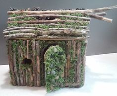 SALE Outdoor Fairy house Gnome home Kit Fairy Garden Lights $27.00