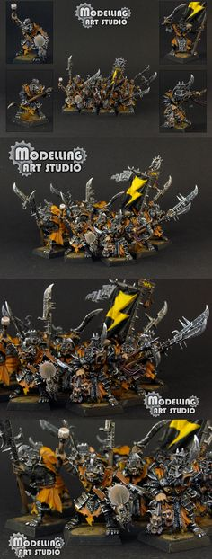 Skaven Stormvermin - Modelling Art Studio