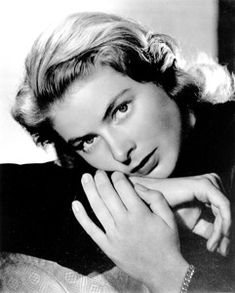 Ingred Bergman. I think I have a new favorite actress.