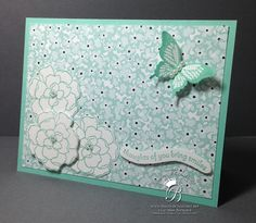 #stampinup Secret Garden by #queenbcreations  http://www.queenbcreations.net
