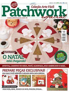 Artesanato - Apliquê - Patchwork : COL ARTE FACIL PATCHWORK ESP 044 - Editora Minuano
