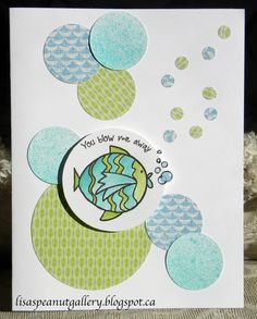 card by Lisa McFadden-Elliot using CTMH Chantilly paper, with some CTMH Surf's Up paper mixed in!