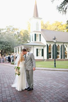 gorgeous chapel at the Inn at Palmetto Bluff | Kay English #wedding