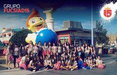 El #FucsiaD15 copando #UniversalStudios con #enjoy15