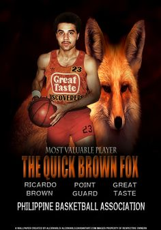 ricardo browb pba - Google Search Philippine Basketball Association, Sport Icon, Live Wallpapers, History, Retro, Google Search, Sports, Movie Posters, Hs Sports