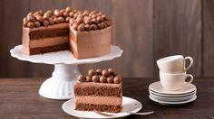 Recipe chocolate cake – Sweet World Ideas Fondant Wedding Cakes, Cool Wedding Cakes, Fondant Cakes, Baked Dip Recipes, Cake Recipes, Gumdrop Cake Recipe, Chocolate Recipes, Chocolate Cake, How To Make Toffee