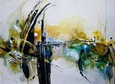 '4er-Serie/ Nr.2' von Claudia Neubauer bei artflakes.com als Poster oder Kunstdruck $16.63