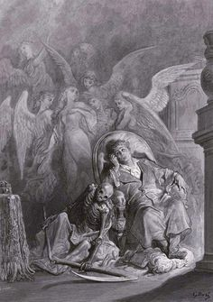 """Gustave Doré's Hauntingly Beautiful 1883 Illustrations for Edgar Allan Poe's """"The Raven"""" – Brain Pickings"""