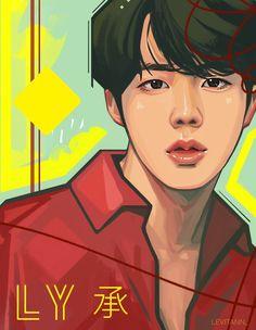 Bts || Jin fanart