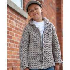 Fast Forward Jacket - intermediate (sizes 4 years through 12 years - free pdf instructions)