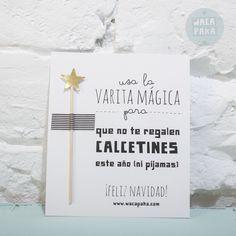 Postal varita mágica | Wacapaka shop
