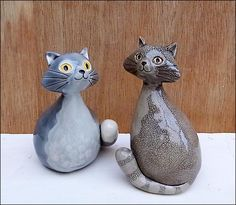 Grey Cats by Hippopottermiss.deviantart.com on @deviantART