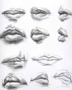 Wow Proper way of learning Different ways of Drawing Lips.