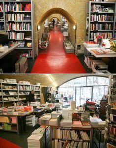 Bücherbogen, one of my favorite bookstores in town...great collection on art, architecture, film, foto & design #Berlin