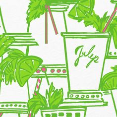 Lilly Pulitzer Just Add Mint Have this print in lavender skirt. Love:)