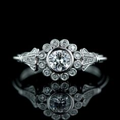 Flower engagement ring. If it was a pearl in the setting not a diamond. This would be in my top 5.