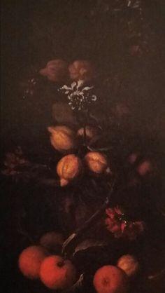 TOMMASO REALFONSO called MASILLO  ( Napoli 1677 - post 1743 ). PIANTA DI LIMONI IN UN VASO DI TERRACOTTA CON ARANCE. olio su tela. 76,5 × 43 cm.