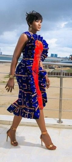 The complete collection of Exotic Ankara Gown Styles for beautiful ladies in Nigeria. These are the ideal ankara gowns African Attire, African Wear, African Women, African Dress, African Style, Ankara Dress Styles, Ankara Gowns, Latest Ankara Styles, Ankara Blouse