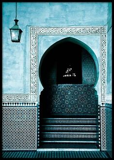 Blue Arabesque Arch Poster in the group Prints / Sizes / Marrakech, Groups Poster, Islamic Wallpaper, Nordic Interior, Japanese Interior, Islamic Architecture, Arte Popular, Modern Art Prints, Inspiration Wall