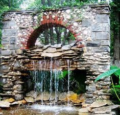 Marvelous backyard water feature kits that look beautiful Water Feature Kits, Backyard Water Feature, Large Backyard, Outdoor Wall Fountains, Outdoor Walls, Outdoor Decor, Water Fountains, Water Wall Fountain, Natural Pond