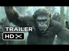 ▶ Dawn Of The Planet Of The Apes Official Trailer #1 (2014) - Gary Oldman Movie HD - A growing nation of genetically evolved apes led by Caesar is threatened by a band of human survivors of the devastating virus unleashed a decade earlier. They reach a fragile peace, but it proves short-lived, as both sides are brought to the brink of a war that will determine who will emerge as Earth's dominant species.