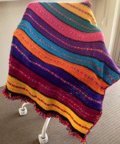 Handmade Paintbox Afghan Baby Blanket on Etsy, $50.00 AUD
