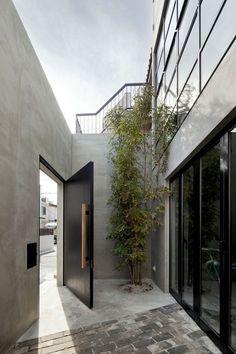 black gate doors …