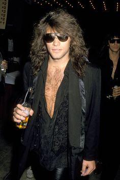 Jon Bon Jovi circa 1989. Yeah.....love him!