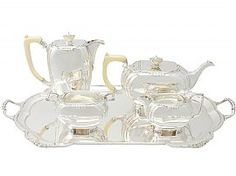 Vintage Silver Tea Set | Art Deco Sterling Silver